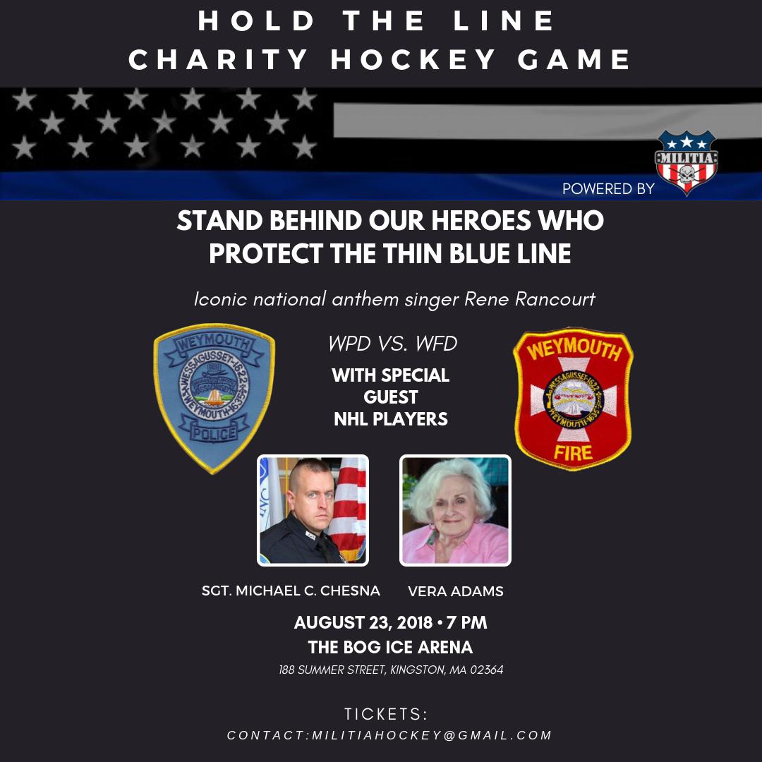 Copy of Hold the Line, Charity Hockey Ga