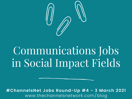 #ChannelsNet Jobs Round-Up #4