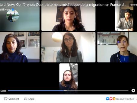 Echanges autour du traitement médiatique de la migration en France à l'occasion de la Journée intern