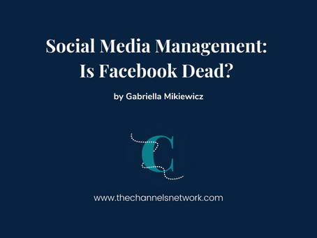 Social Media Management: Is Facebook Dead?