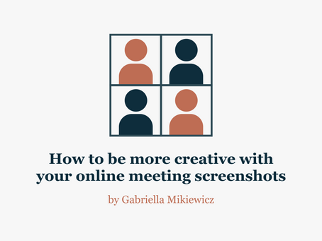 7 fun ways to get more creative with screenshots from your online calls