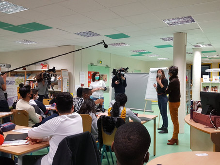 Lutter contre les préjugés et sensibiliser des jeunes collégiens sur les migrations