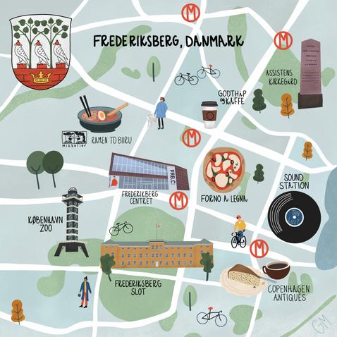 Frederiksberg Map.PNG