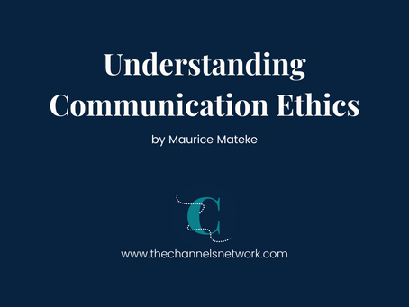 Understanding communication ethics - Part 1