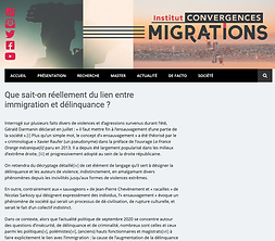 Que sait-on réellement du lien entre immigration et délinquance ? (What do we know about the link between immigration and delinquent behaviours?)