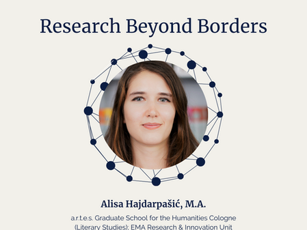 Research Beyond Borders with Alisa Hajdarpašić, M.A.