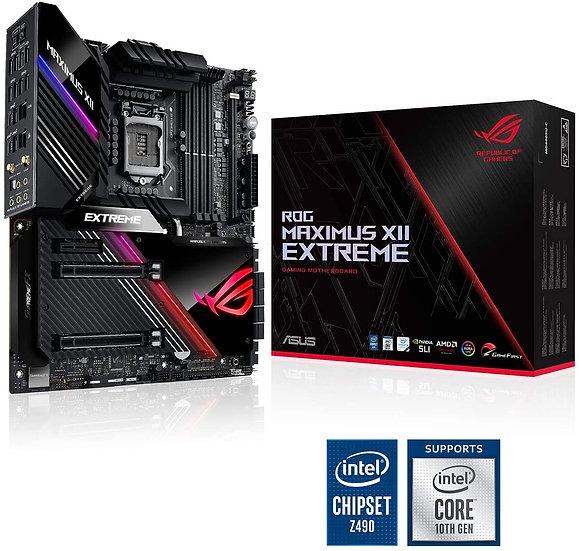 Asus ROG MAXIMUS XII EXTREME, Intel Z490, 1200, EATX, 4 DDR4, XFire/SLI, AX Wi-F