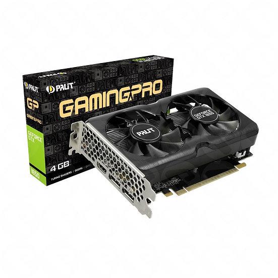 Palit GTX1650 GamingPro, 4GB DDR6, DVI, HDMI, DP, 1590MHz Clock
