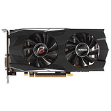 Asrock Phantom Gaming D Radeon RX570 4G, 4GB DDR5, PCIe3, DVI, HDMI, 3DP, 1293MH