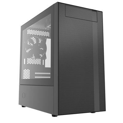 Cooler Master MasterBox NR400 Black Mini Tower Case (M-ITX/M-ATX)