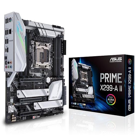 Asus PRIME X299-A II, Intel X299, 2066, ATX, 8 DDR4, SLI/XFire, M.2 Heatsink, 12