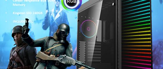 CTG08 AMD RYZEN 5 3400G with 8GB RAM + 240GB SSD - PRE-BUILT SYSTEM