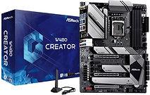 Asrock W480 CREATOR, Intel W480, 1200 (Xeon W CPUs), ATX, HDMI, XFire, GB & 2.5G