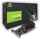 PNY Quadro P1000 Professional Graphics Card, 4GB DDR5, 4 miniDP 1.2 (1 x DVI & 4
