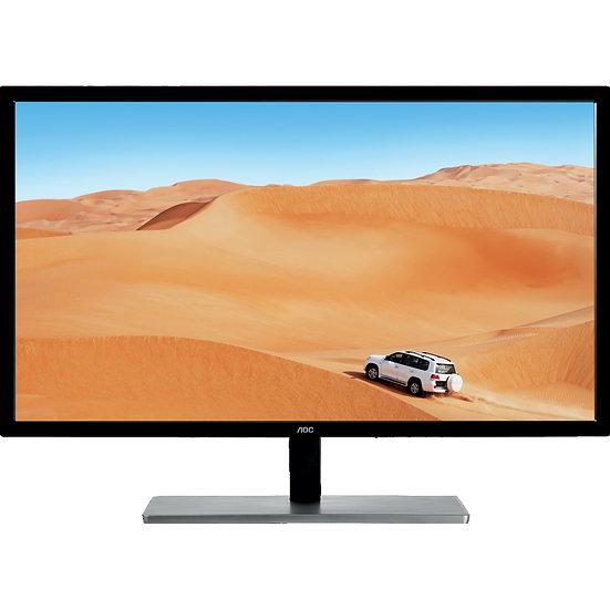 "AOC Q3279VWFD8 31.5"" QHD with Freesync LED IPS VGA/DVI/HDMI Display Port Monitor"