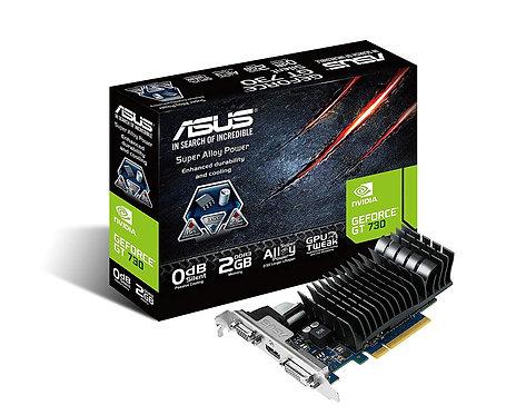Asus GT730, 2GB DDR3, PCIe2, VGA, DVI, HDMI, 902MHz Clock