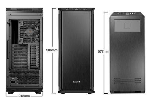 Be Quiet! Dark Base Pro 900 Rev2 Gaming Case, E-ATX, No PSU, PSU Shroud, 3 x Sil