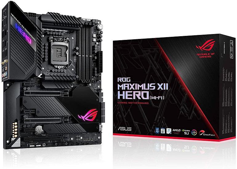 Asus ROG MAXIMUS XII HERO (WI-FI), Intel Z490, 1200, ATX, 4 DDR4, XFire/SLI, HDM