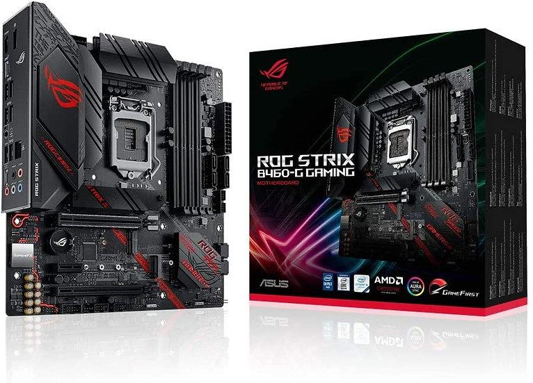 Asus ROG STRIX B460-G GAMING, Intel B460, 1200, Micro ATX, 4 DDR4, XFire, HDMI,