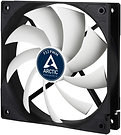 Arctic F12 12cm PWM Case Fan, Black & White, 9 Blades, Fluid Dynamic