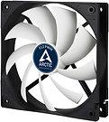 Arctic F12 12cm PWM Case Fan, Black & White, 9 Blades, Fluid Dynamic