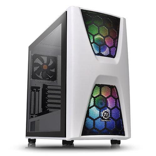 Thermaltake Commander C34 TG Snow ARGB Edition Series Mid Tower 2 x USB 3.0 Temp