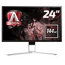 "AOC AG241QX 24"" 144Hz LED Widescreen VGA/DVI/ HDMI/Display Port Freesync 1ms"