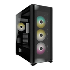 Corsair iCUE 7000X RGB Gaming Case w/ 3x Tempered Glass Panels, E-ATX, 3 x SP140