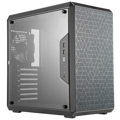 Cooler Master MasterBox Q500L Black Mini Tower Case (M-ITX/M-ATX/ATX)