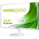 """Hannspree HS246HFW 24"""" Full HD LED VGA / HDMI with Speakers IPS White Monitor"""