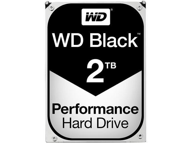 """WD Black 2TB 3.5"""" SATA III Desktop HDD/Hard Drive"""