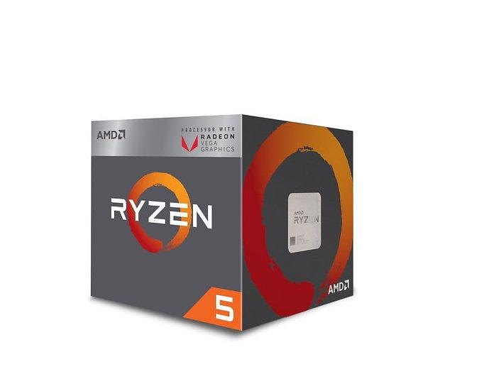 AMD Ryzen 5 3400G Quad Core CPU with Vega 11 Graphics