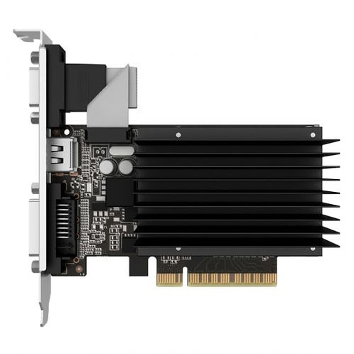 Asus GT710, 1GB DDR3, PCIe2, VGA, DVI, HDMI, 954MHz Clock, Silent, Low Profile (