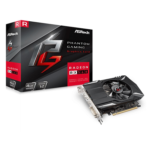 Asrock Phantom Gaming Radeon RX560, 4GB DDR5, PCIe3, DVI, HDMI