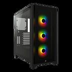 Corsair iCUE 4000X RGB Gaming Case w/ Tempered Glass Window, E-ATX, 3 x AirGuide