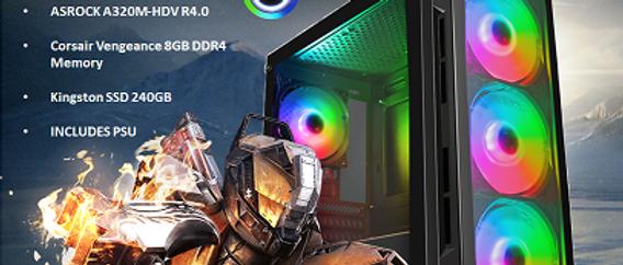CTG31 AMD RYZEN 3 3200G with 8GB RAM + 240GB SSD - PRE-BUILT SYSTEM