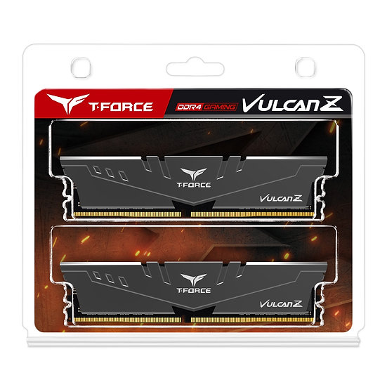 Team T-Force Vulcan Z 16GB Silver Heatsink (2 x 8GB) DDR4 3200MHz DIMM System