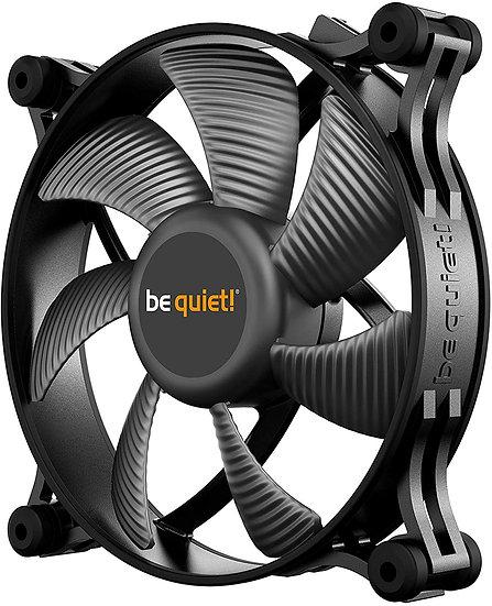 Be Quiet! (BL084) Shadow Wings 2 12cm Case Fan, Rifle Bearing, Black, Whisper Qu