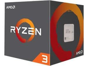MD Ryzen 3 1200 CPU with Wraith Cooler, AM4, 3.1GHz (3.4 Turbo), Quad Core, 65W