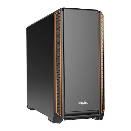 Be Quiet! Silent Base 601 Gaming Case, E-ATX, No PSU, 2 x Pure Wings 2 Fans, PSU