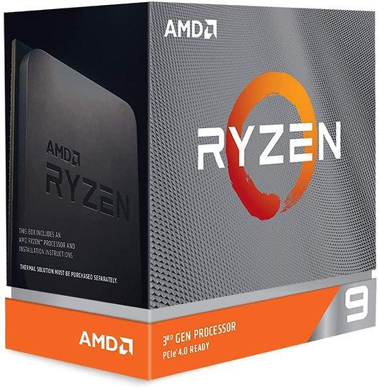AMD Ryzen 9 3900XT CPU, 12-Core, AM4, 3.8GHz (4.7 Boost), 105W, 7nm, 3rd Gen