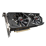 Asrock Phantom Gaming X Radeon RX570 OC, 4GB DDR5, PCIe3, DVI, HDMI, 3DP, 1331MH