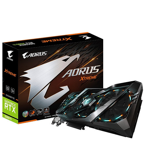 Gigabyte Nvidia GeForce RTX 2080 Ti XTREME 11GB Triple RGB Fan Graphics Card