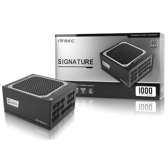 Antec Signature 1000W Platinum 135mm FDB Silent Fan 80 PLUS Platinum modular PSU