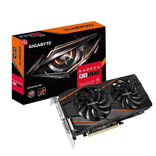 Gigabyte AMD Radeon RX590 GAMING 8GB Dual Fan RGB Graphics Card