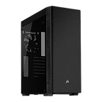 Corsair 110R Gaming Case with Tempered Glass Window, ATX, No PSU, 12cm Fan