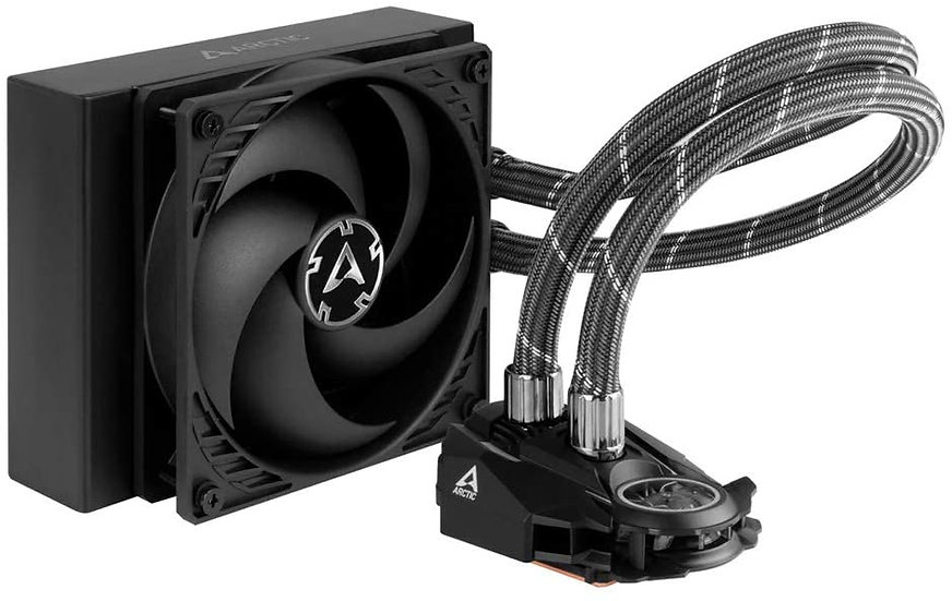Arctic Liquid Freezer II 120mm Liquid CPU Cooler, PWM Fan & PWM Controlled Pump