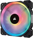 Corsair LL140 14cm PWM RGB Case Fan, 16 LED RGB Dual Light Loop, Hydraulic Beari