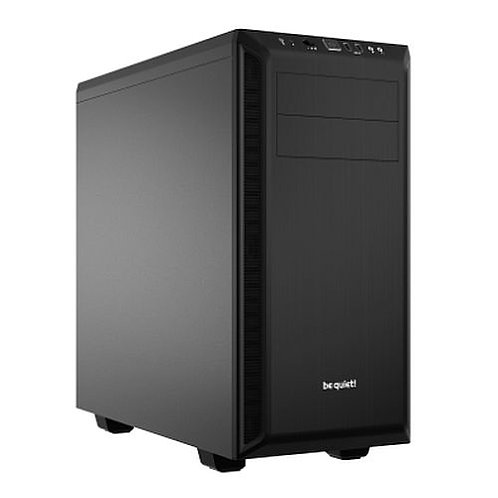 Be Quiet! Pure Base 600 Gaming Case, ATX, No PSU, 2 x Pure Wings 2 Fans, Black