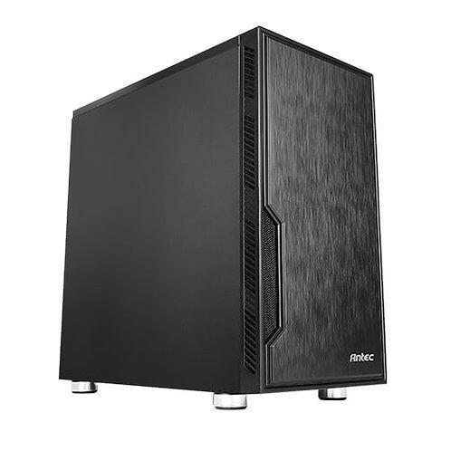 Antec VSK10 Micro ATX Case, No PSU, 12cm Fan, 2 USB 3.0, Extensive Cooling Optio